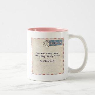 flying pig mail mug