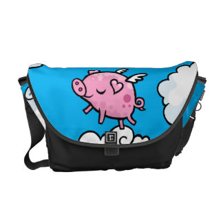 Flying Pig Messenger bag