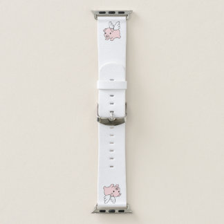 Flying Pig - Piglet with Wings Apple Watch Band