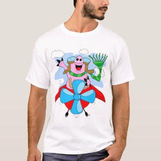 Flying Pig Pilot T-Shirt