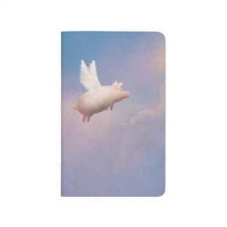 flying pig pocket journal