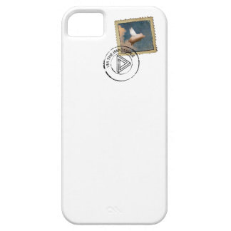 flying pig stamp iphone case iPhone 5 cover