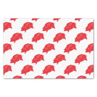 flying pig  🐷 tissue paper