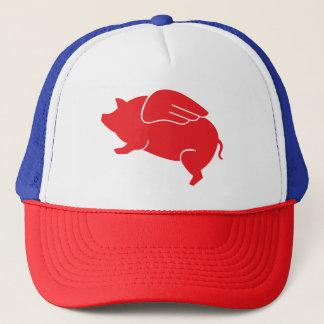 flying pig  🐷 trucker hat