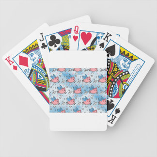 flying pigs bicycle playing cards