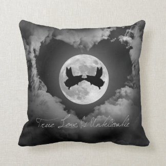 Flying Pigs Kissing-True Love Is Unbelievable Cushion