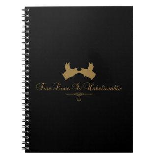 flying pigs-true love is unbelievable notebook
