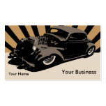 Flying Piston Hot Rod Pack Of Standard Business Cards