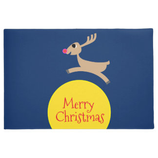 Flying Reindeer Doormat