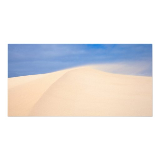 Flying sand card personalized photo card