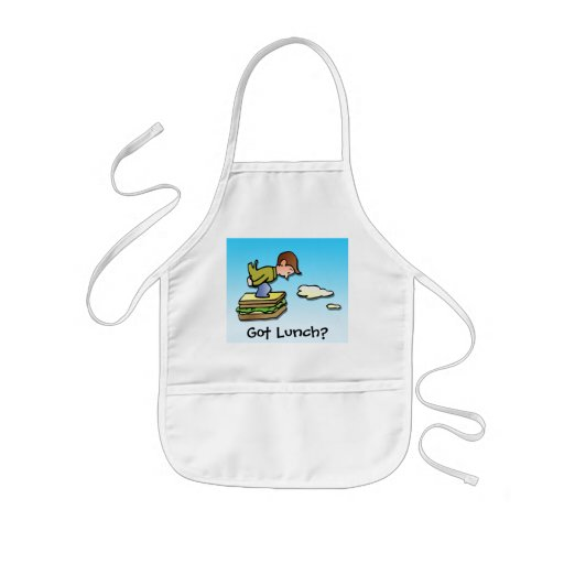 Flying Sandwich Aprons