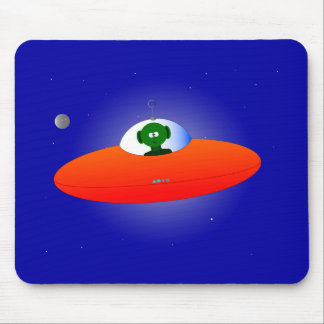 Flying Saucer Mouse Pad
