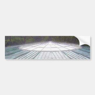 Flying Saucer Skateboard Sticker