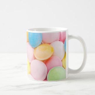 flying saucer sweets background mug
