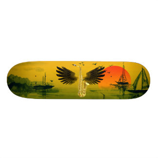Flying Sax 20 Cm Skateboard Deck