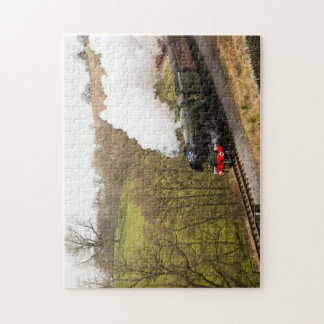 Flying Scotsman at Goathland Jigsaw Puzzle