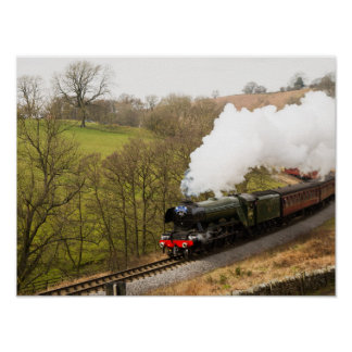 Flying Scotsman at Goathland Poster