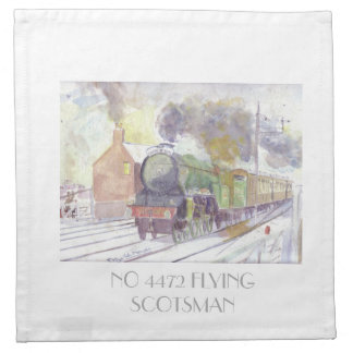 Flying Scotsman Napkins