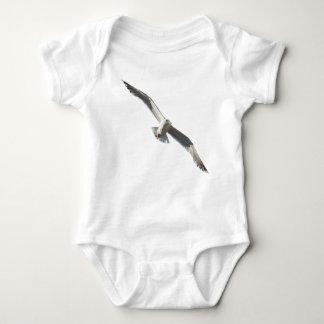 Flying seagull baby bodysuit