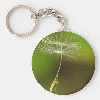 Flying seeds key ring