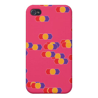 flying shapes iPhone 4/4S covers