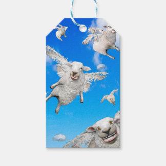 FLYING SHEEP 2 GIFT TAGS
