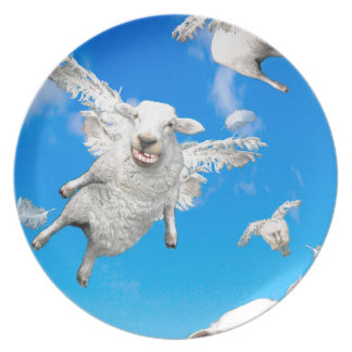 FLYING SHEEP 2 PLATE