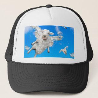FLYING SHEEP 2 TRUCKER HAT