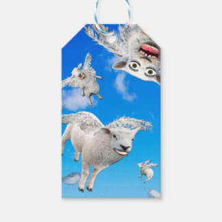 FLYING SHEEP 3 GIFT TAGS