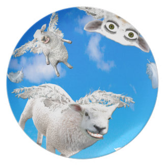 FLYING SHEEP 3 PLATE