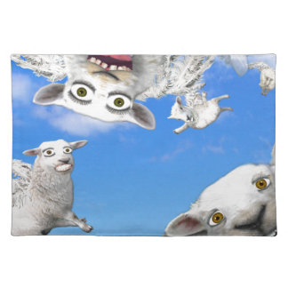 FLYING SHEEP 4 PLACEMAT
