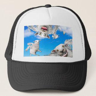 FLYING SHEEP 4 TRUCKER HAT