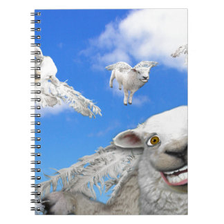 FLYING SHEEP 5 NOTEBOOKS