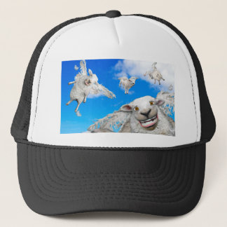 FLYING SHEEP 5 TRUCKER HAT