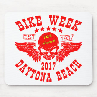 Flying Skull 76Th Daytona Beach Bike Week 2017r Mouse Pad
