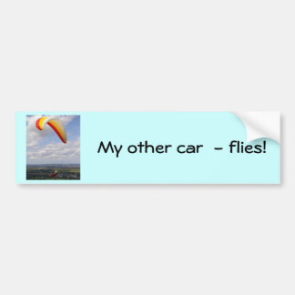 Flying Solo Bumper Sticker