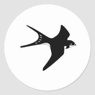 Flying Sparrow Sticker
