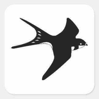 Flying Sparrow Sticker