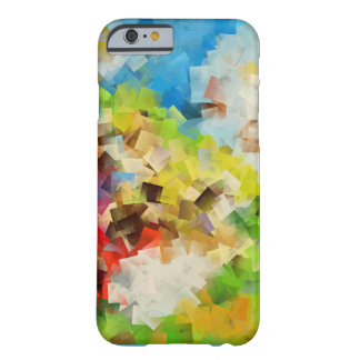 Flying Squares abstract design Barely There iPhone 6 Case