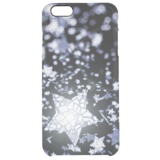 Flying stars clear iPhone 6 plus case