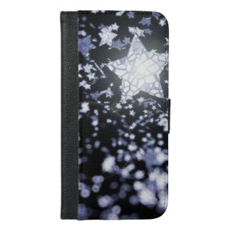 Flying stars iPhone 6/6s plus wallet case