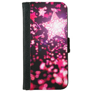 Flying stars iPhone 6 wallet case