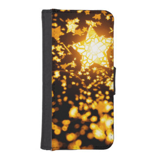Flying stars iPhone SE/5/5s wallet case