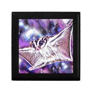 Flying Sugar Glider Small Square Gift Box