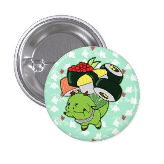Flying sushi dragon button