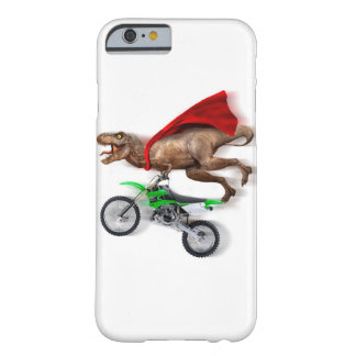 Flying t rex  - t rex motorcycle - t rex ride barely there iPhone 6 case