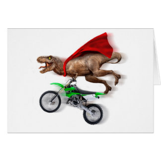 Flying t rex  - t rex motorcycle - t rex ride card