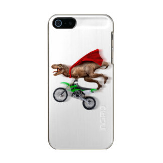 Flying t rex  - t rex motorcycle - t rex ride incipio feather® shine iPhone 5 case