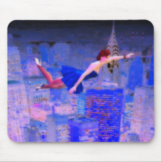Flying through the Spirit World Mouse Pad