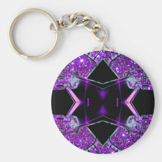 Flying through the Universe Key Chain